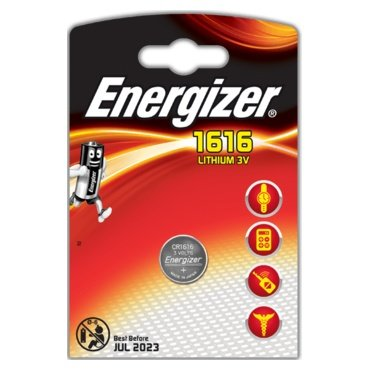 Mini litiumbatteri Energizer CR1616