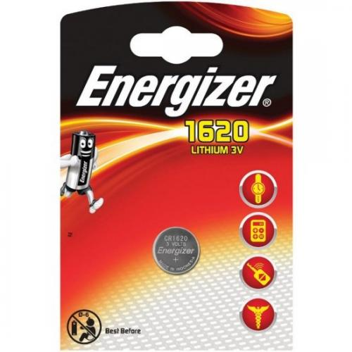 Mini litiumbatteri Energizer CR1620