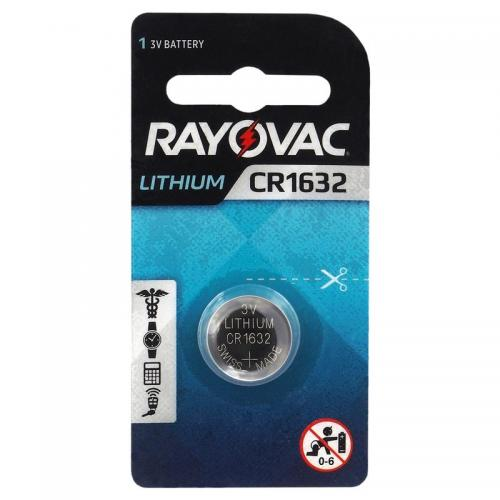 Lithium battery Rayovac CR1632  Min.Leverans:20st