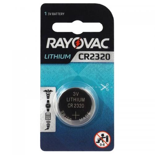 Lithium battery Rayovac CR2320  Min.Leverans:20st