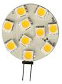 80st SIVAL LED-G4 Dimbar 8-16Vac/10-30Vdc 1,8W 2800K 170lm