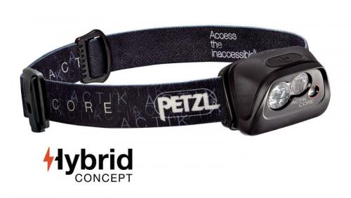 Headlamp Petzl Actik Core E99ABA Black