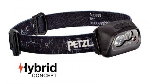 Headlamp Petzl Actik E99AAA Black