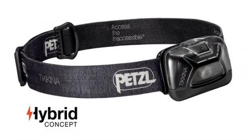 Headlamp Petzl Tikkina E91ABA Black model 2017