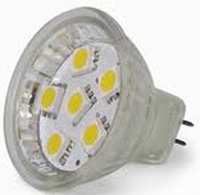 LED-MR11 1,2W 10-30Vdc/10-18Vac 2700K 120lm