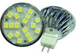 34st SIVAL LED-MR16 10-30Vdc/10-18Vac 2,8W 2700K 250lm