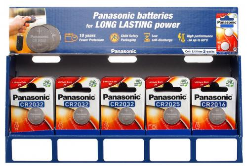 Panasonic 12x CR2016 COIN CR2025 2BL 2BL + 12x + 36x CR2032 2BL