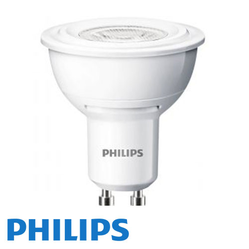 3.5W PHILIPS CorePro GU10 LED-Spot - Varmvit