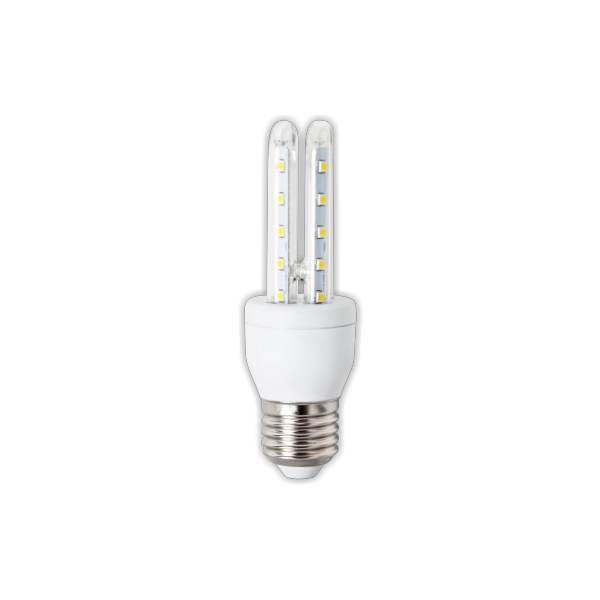 8W 2U-Tube LED Lampa - E27