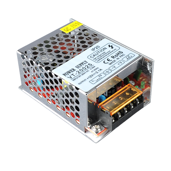 25W SMPS Power Supply, 12V