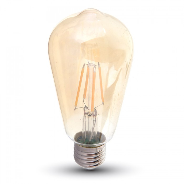 4W ST64 Dimmable Filament LED Bulb E27-Warm white