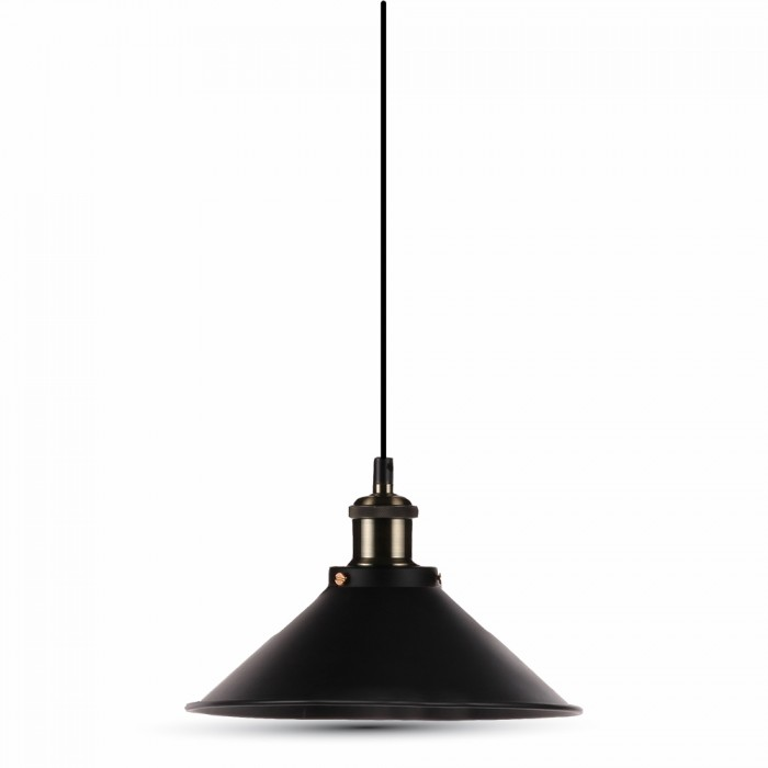 Vintage Black LED Pendant