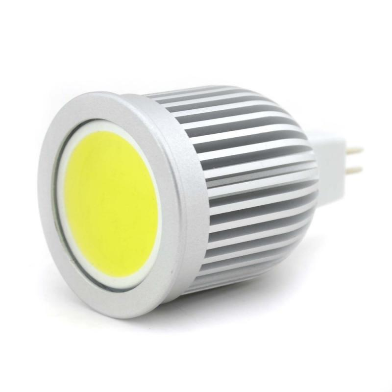 LED Spot Lampa MR16 / GU5.3 5W COB 120 Graders