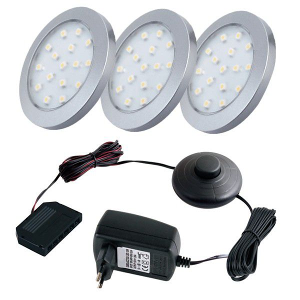 Orbit LED-Lampa 3 st - Set