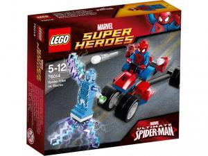 LEGO  76014 Spider-Trike mot Electro