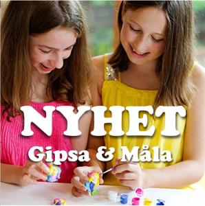 Gipsa & Måla - NYHET!