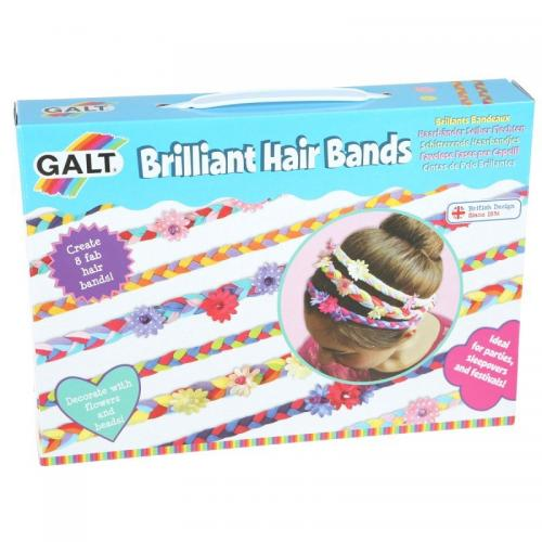 Pyssla med hårband från Galt, pyssel för barn i present eller julklapp, kreativa leksaker en uppskattad prenumeration för barn
