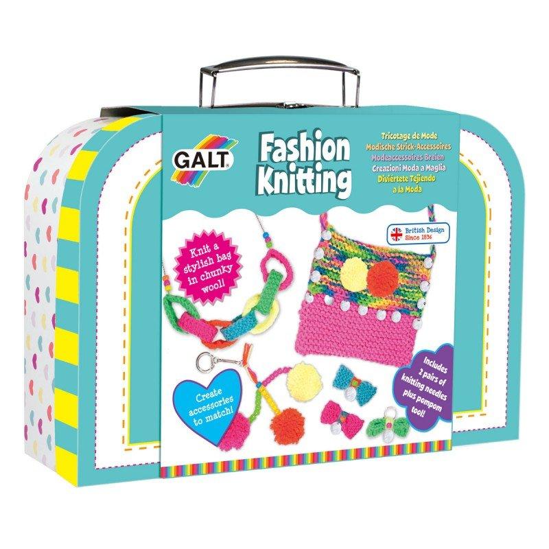 Pyssla med detta sticknings kit från Galt, pyssel för barn i present eller julklapp, kreativa leksaker en uppskattad prenumeration för barn