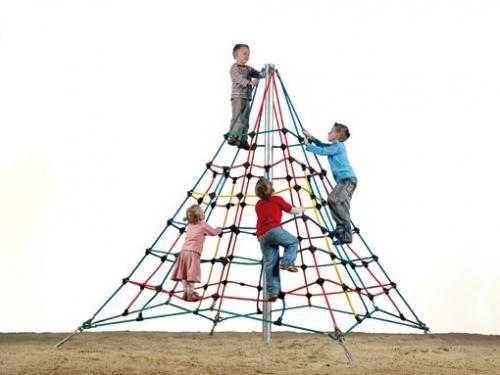 Klätternät Pyramid h. 3 m