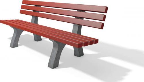 Trafalgar square bench