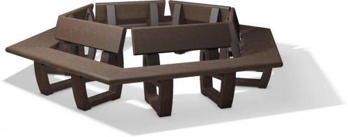 Turon round bench