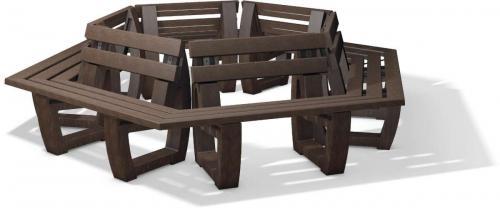 Gatton round bench