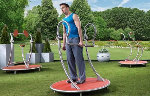 Lateral abdominal trainer