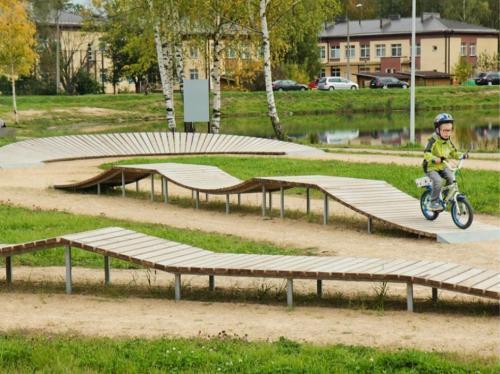 Skills park in Daugavpils