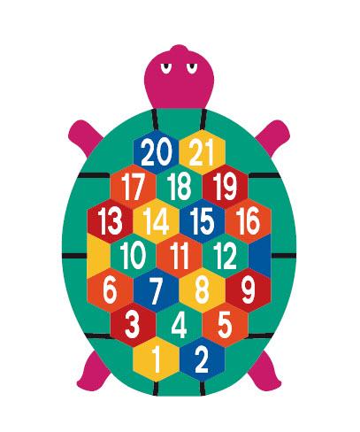 Nummersköldpadda