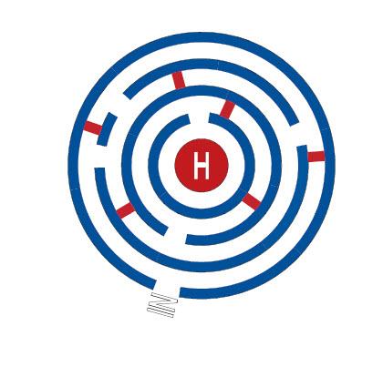 Labyrint rund