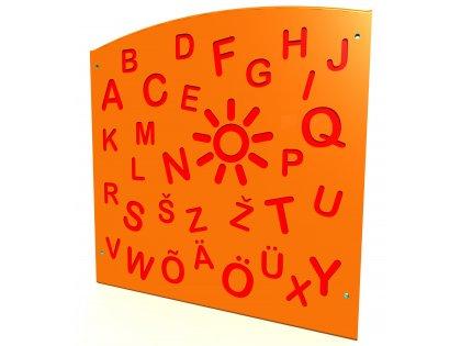 Aktivitetspanel Alfabet