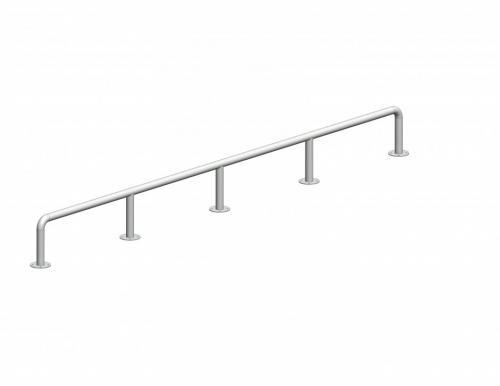 Handrail, H0.6 x W0.06 x L5.0