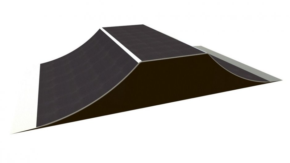Jump box, H1.2 x W1.5 x L7.4