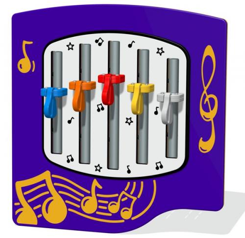 Cam Chimes Musical Play Panel