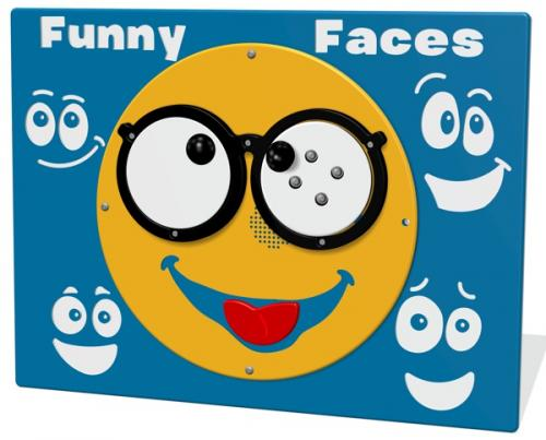 RotoGen Funny Faces Play Panel