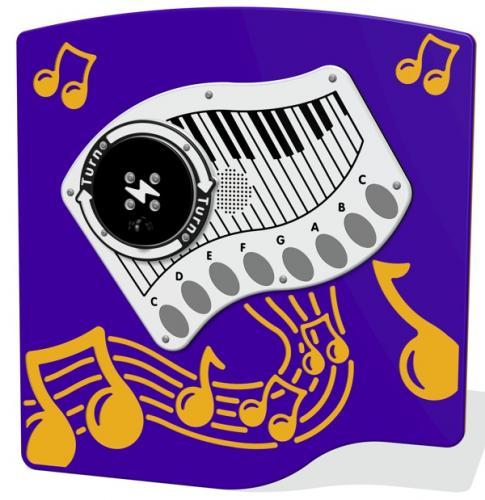 RotoGen Piano Musical Panel