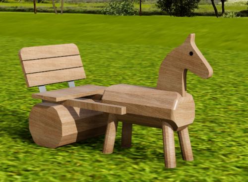 Häst och vagn version 1