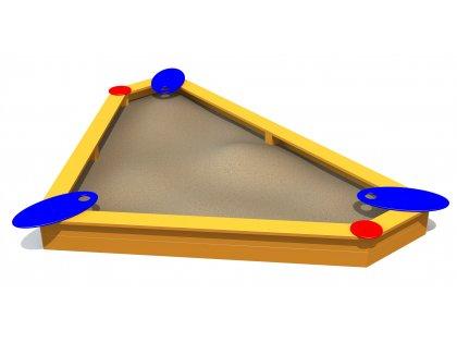 Sandlåda Triangulär