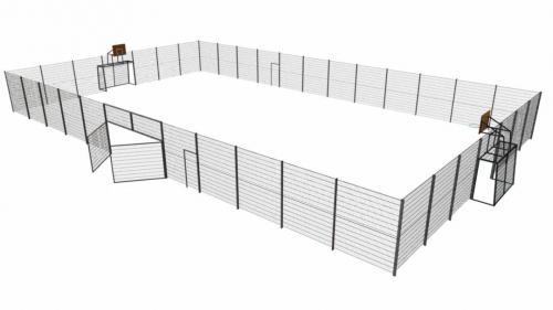 Multiarena metall 18 m x 30 m