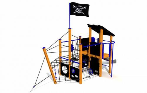 Piratskeppet BLACK DRAGON
