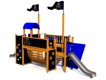 Piratskeppet NIGHT RAMBLER