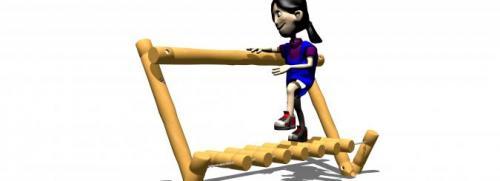 Balansering på rullar