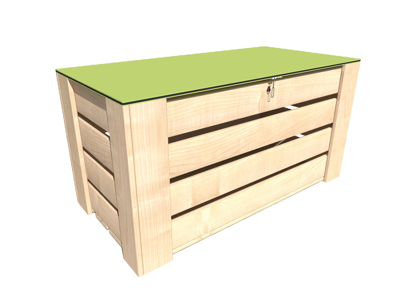 Förvaringsbox i OrganoWood