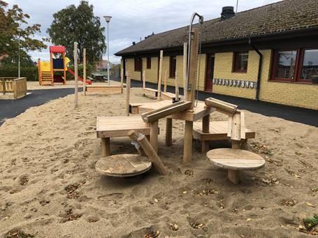 Sand och vattenlek