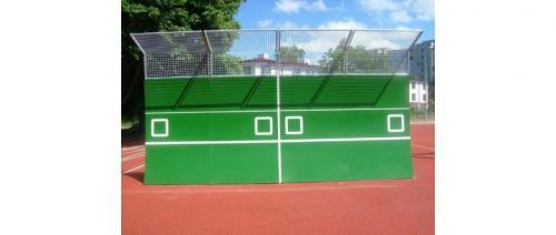 Tennisvägg för utomhusträning 2,3x1,5m