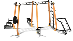 Multifitness gymstation