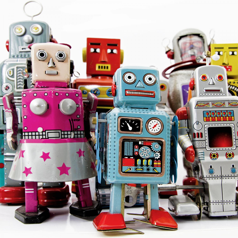 Plåtrobotar