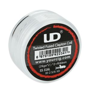 UD Twisted Fused Clapton (SS316L, 10st)