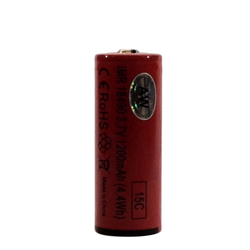 AW 18490 1200mAh 15C batteri
