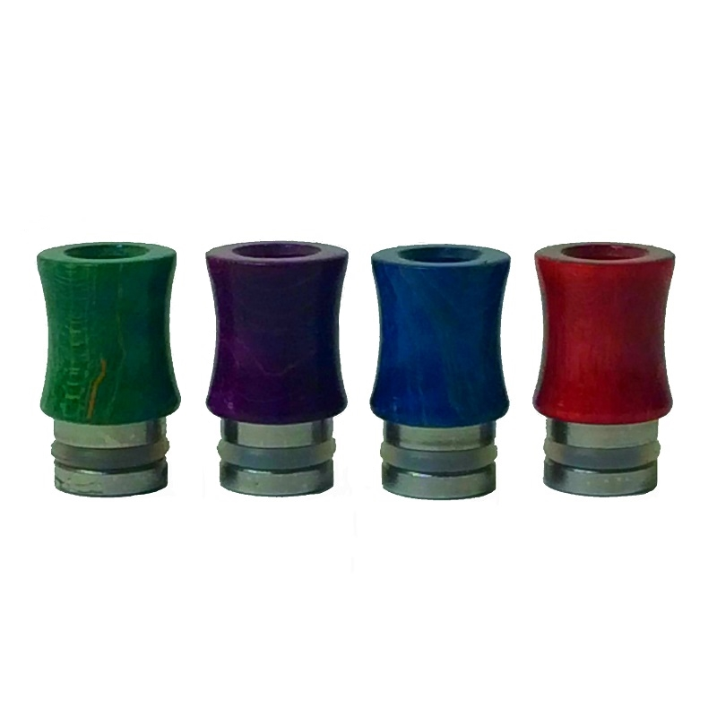 stabilized wood drip tip